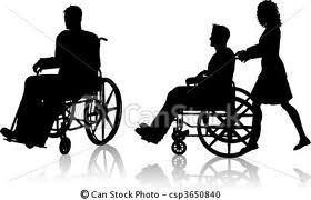 La nature du regard dans Cancer du rein homme-en-fauteuil