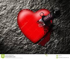 poignard dans le coeur